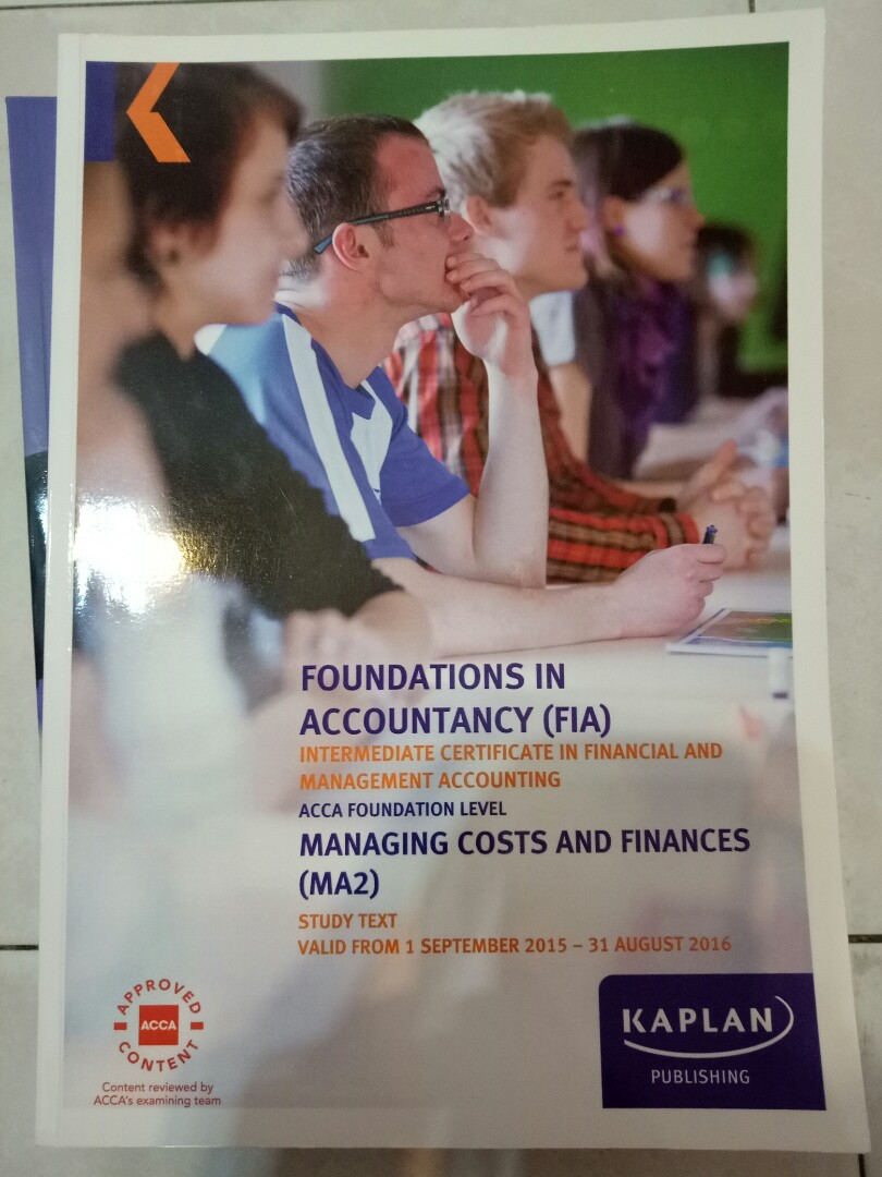 WRG-1056] Kaplan Acca P1 Study Text