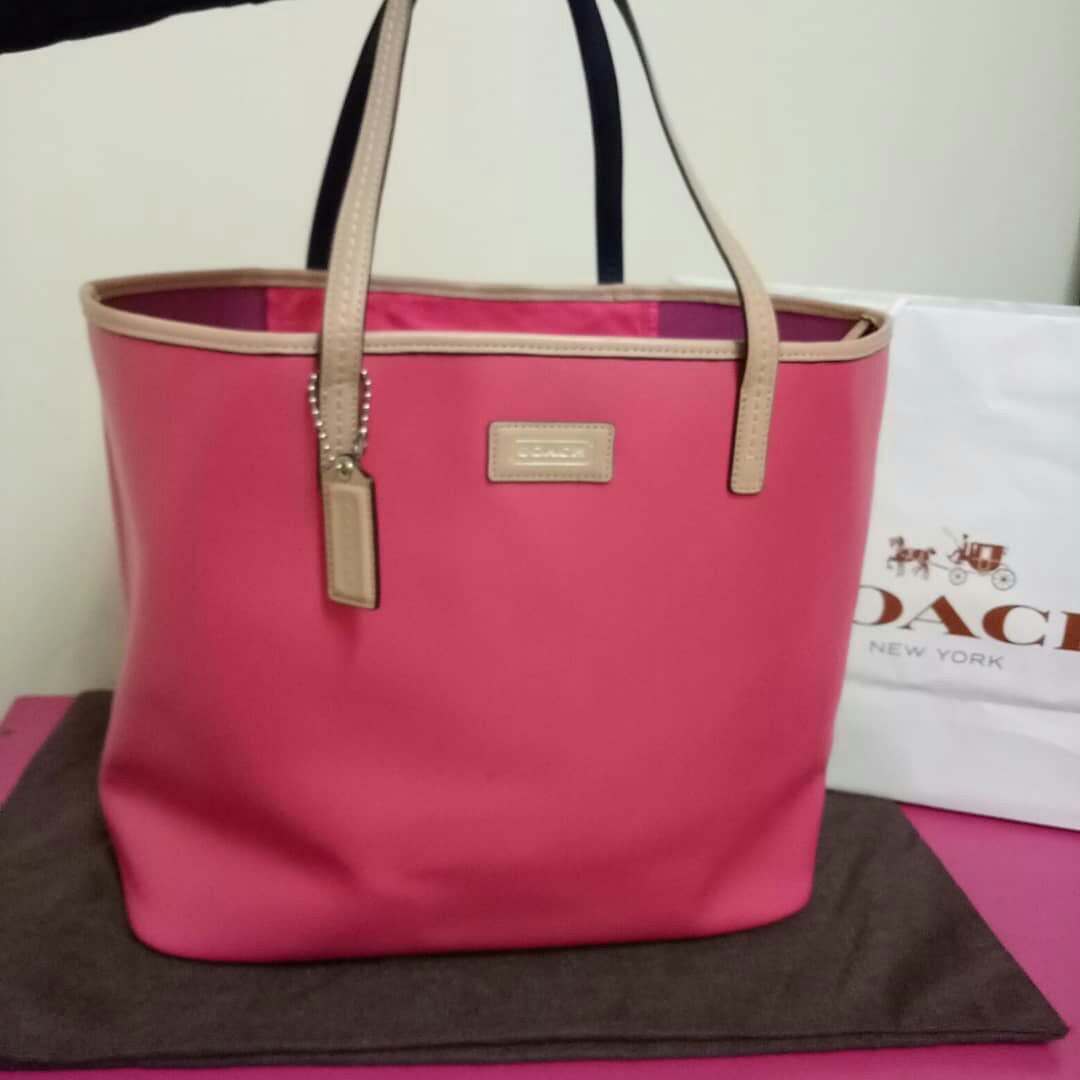 Authentic Coach tote bag f06b529bfe