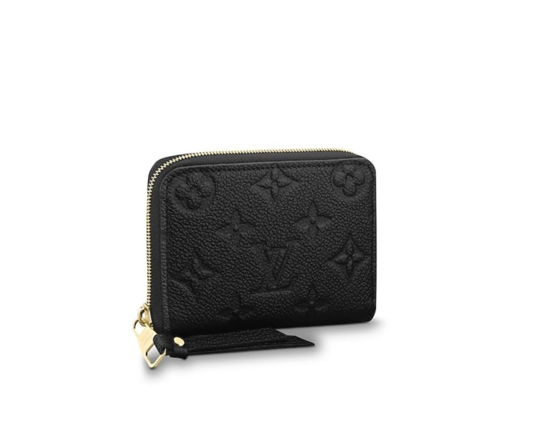 Authentic NEW LV ZIPPY COIN PURSE