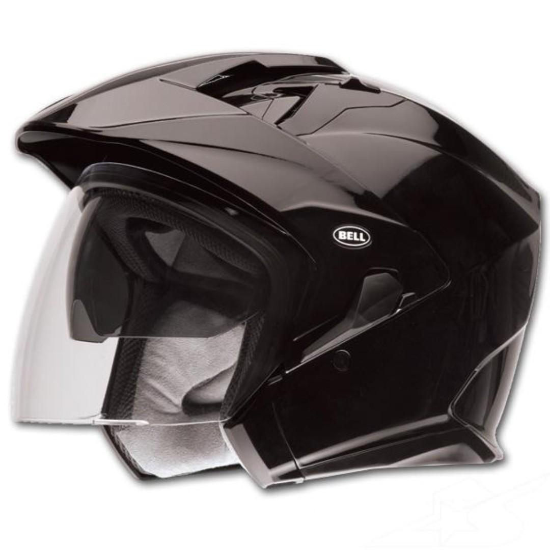 0d049a6d Bell Mag-9 Mag 9 Adult Open face Street Helmet Matte Flat Black or ...