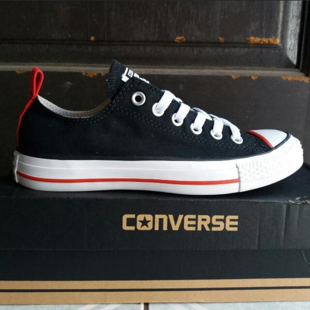CONVERSE CT OX Black Red size 37, Women