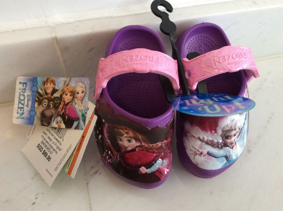 Disney Frozen light up brand new crocs