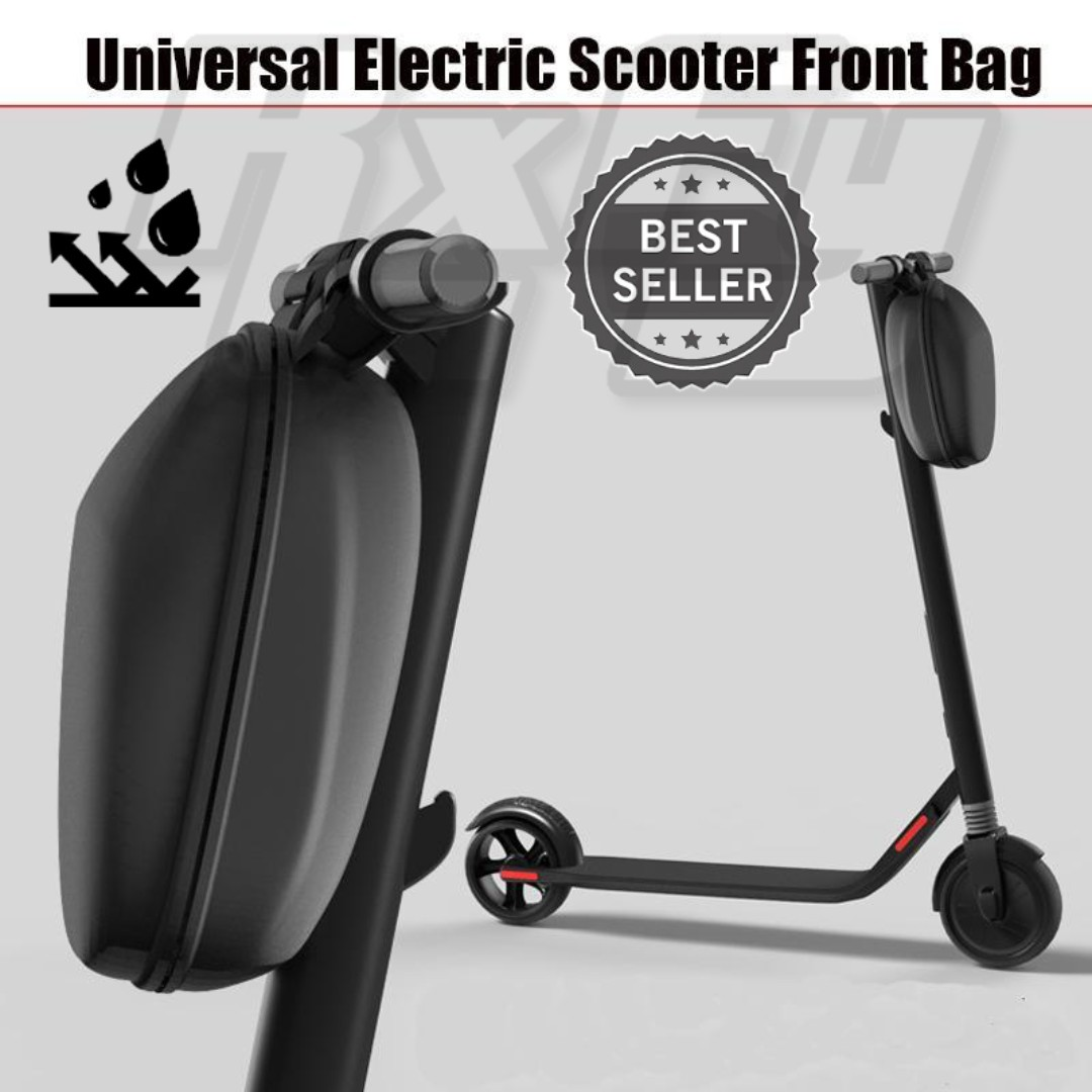 Escooter Scooter Hard Case Bag Bicycle Handle Bar Storage Inokim Speedway Xiaomi Passion Segway Bicycles Pmds Parts Accessories On Carousell