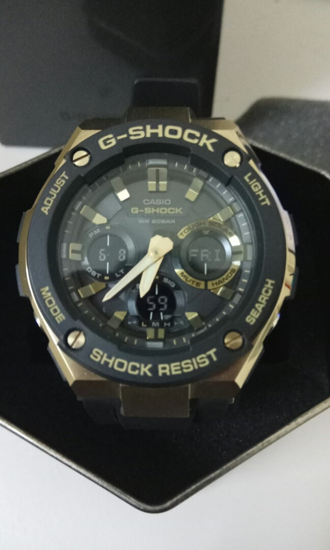 G Shock G Steel Gsts100g 1a Men S Fashion Watches On Carousell