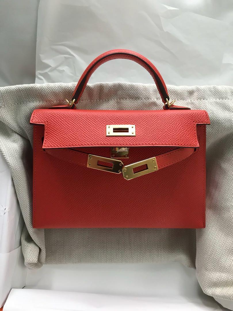 france mini review hermes lindy 2630 youtube 1abb6 1aee7  cheap hermes  kelly 20 mini capucine ghw luxury bags wallets handbags on carousell e7c67  a1d2f e9ba17b39b