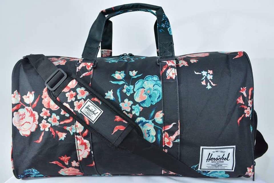 f0550166b6d Herschel Pastel Floral Novel Duffle Bag, Women s Fashion, Bags ...