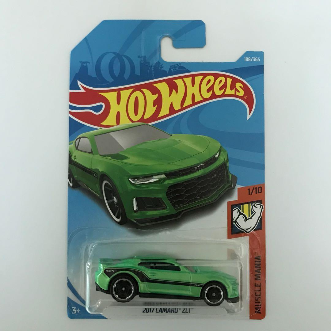 Hot Wheels 2017 Camaro Zl1 Toys Games On Carousell Hotwheels 12 Green