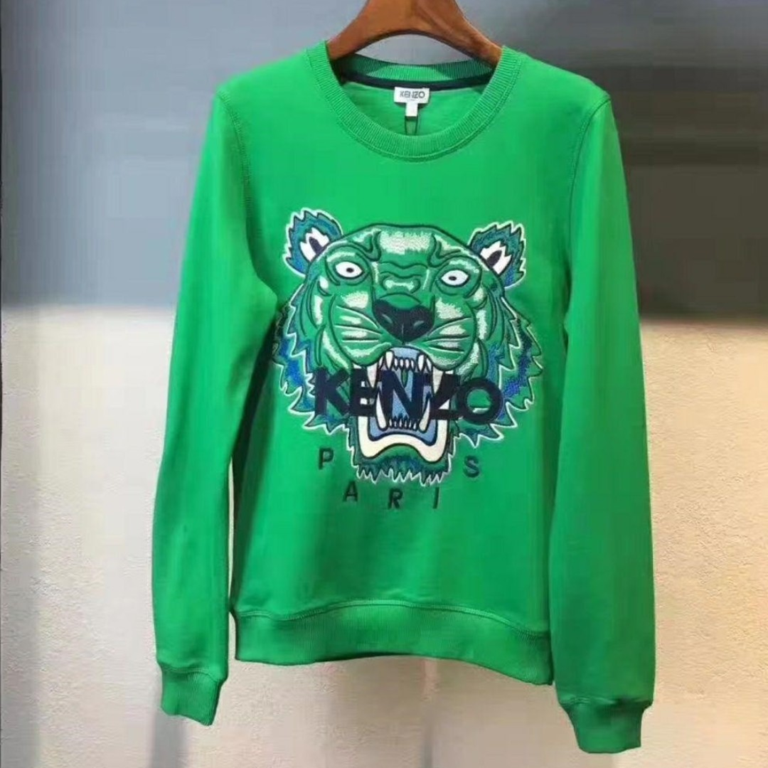 42452d66 Kenzo - Green Tiger Sweatshirt in Size XL, Women's Fashion, Clothes ...