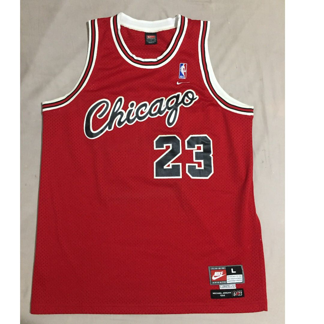 hot sale online b0262 47e63 Michael Jordan Nike 1984 Flight 8403 Bulls jersey on Carousell