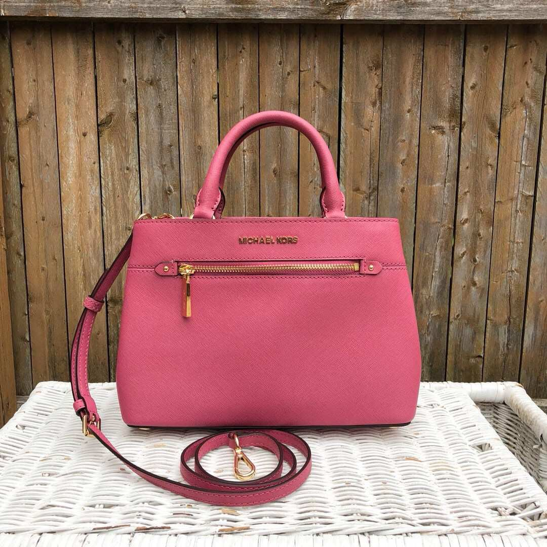 655c505094b8 Michael Kors Hailee XS Satchel in Tulip Preorder, Women's Fashion, Bags &  Wallets, Handbags on Carousell