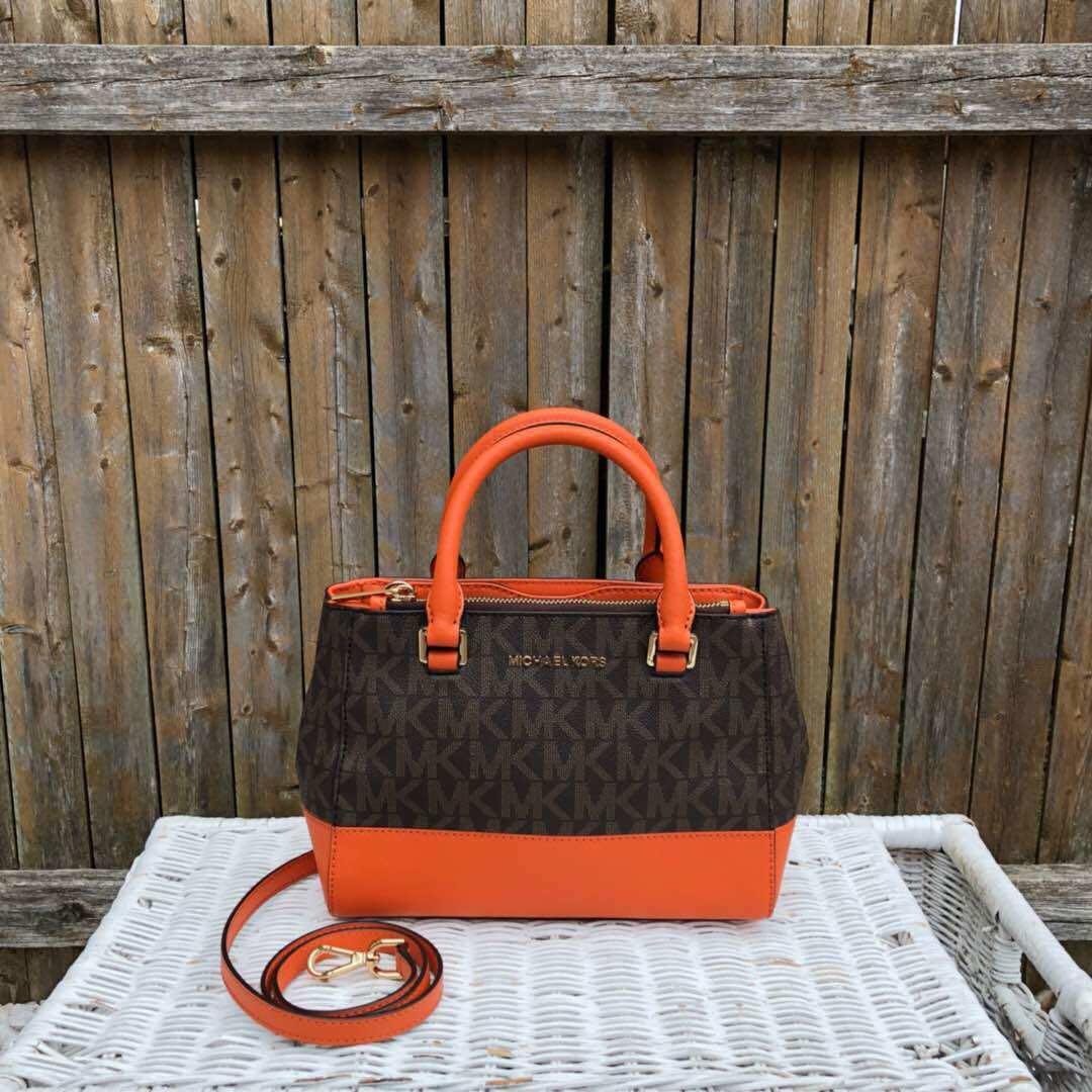 d1f52e8f4b6fbd Michael Kors Kellen XS Satchel Preorder, Women's Fashion, Bags ...
