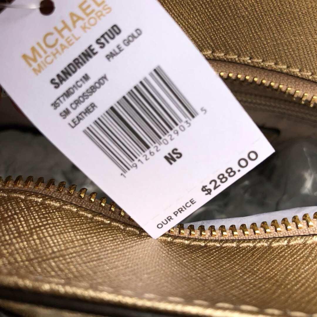 2fd9d081244bfc Michael Kors Sandrine Stud Small Preorder, Luxury, Bags & Wallets, Handbags  on Carousell