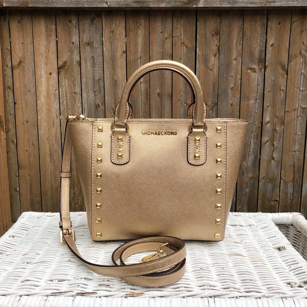 27e21ec8b782c6 Michael Kors Sandrine Stud Small Preorder, Luxury, Bags & Wallets ...