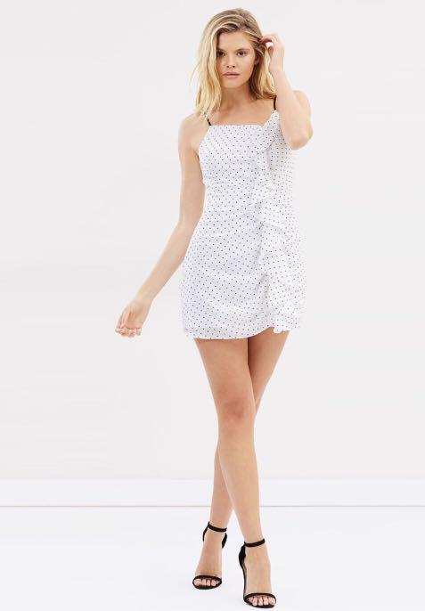 NEW Lulu & Rose Ester Ruffle Dress, XS/AU6