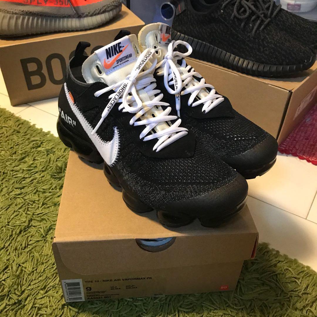 494dc121b50 Nike Off-White Vapormax V1