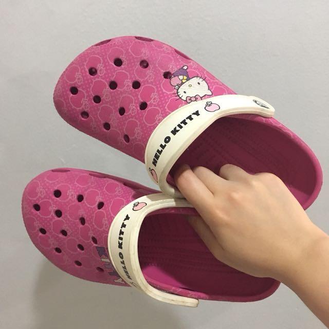 low priced b9048 30688 (PRELOVED) Crocs x Hello Kitty Sandal