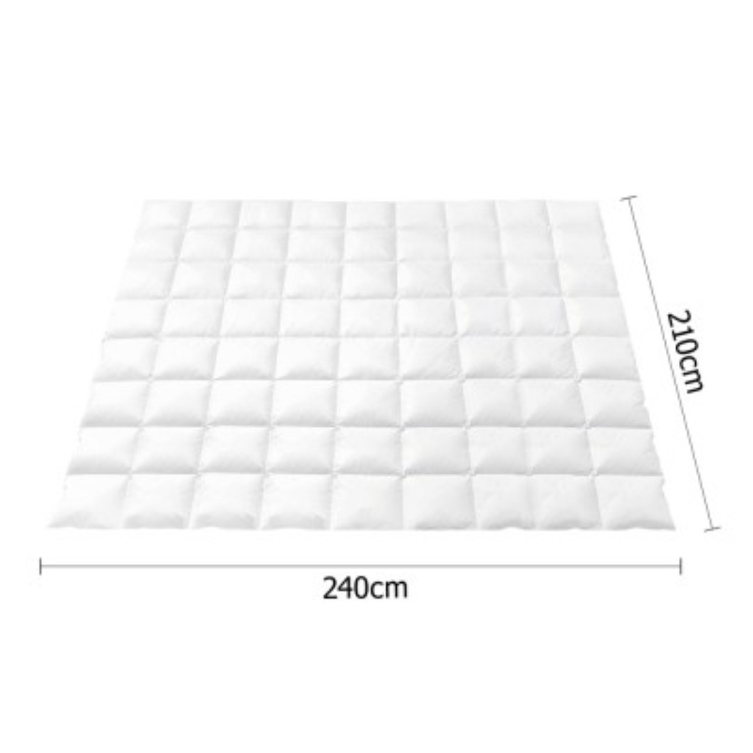 King Size Light Weight Duck Down Quilt Cover