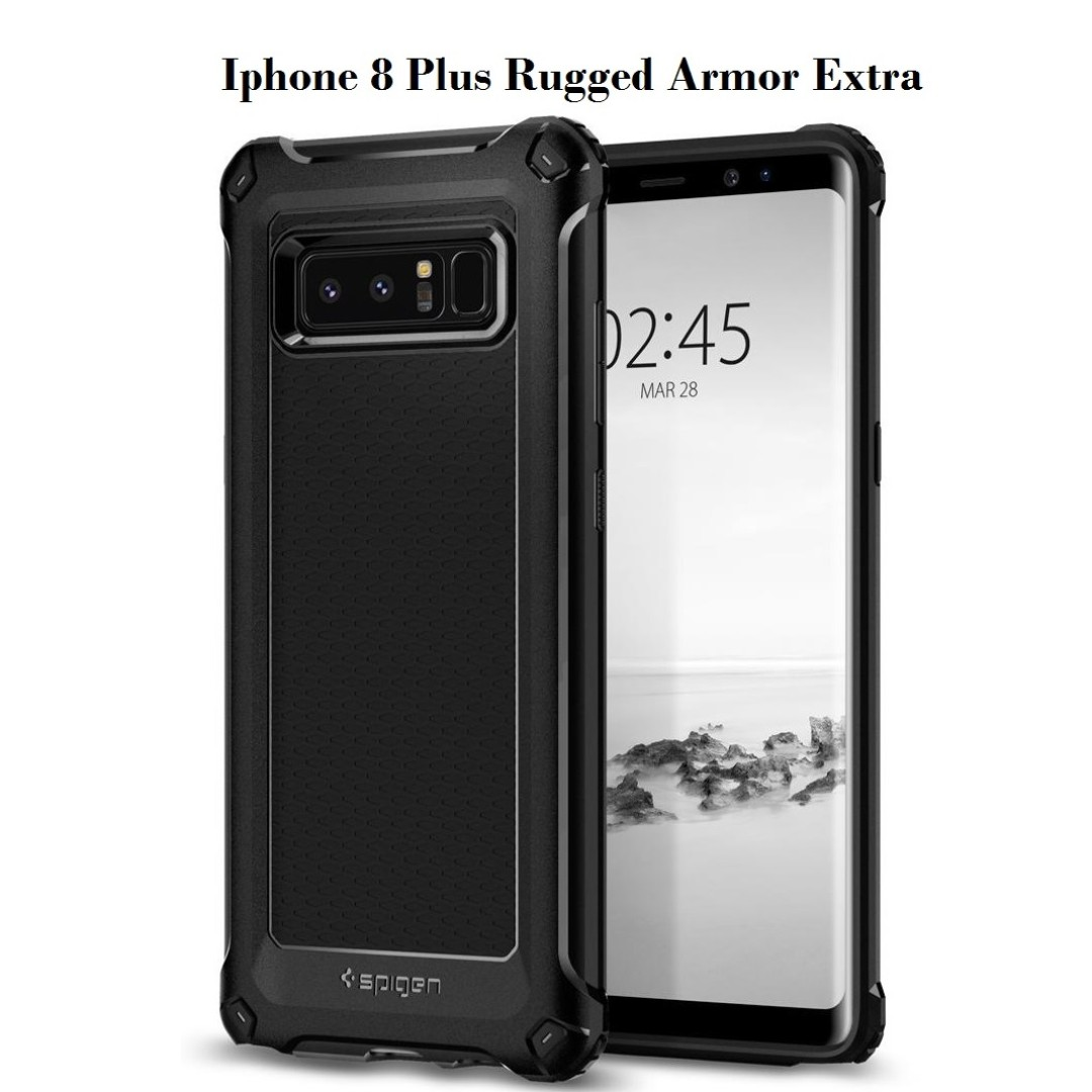 huge selection of 7aa7b 4ecf5 Spigen Iphone 8/7 Plus Rugged Armor Extra