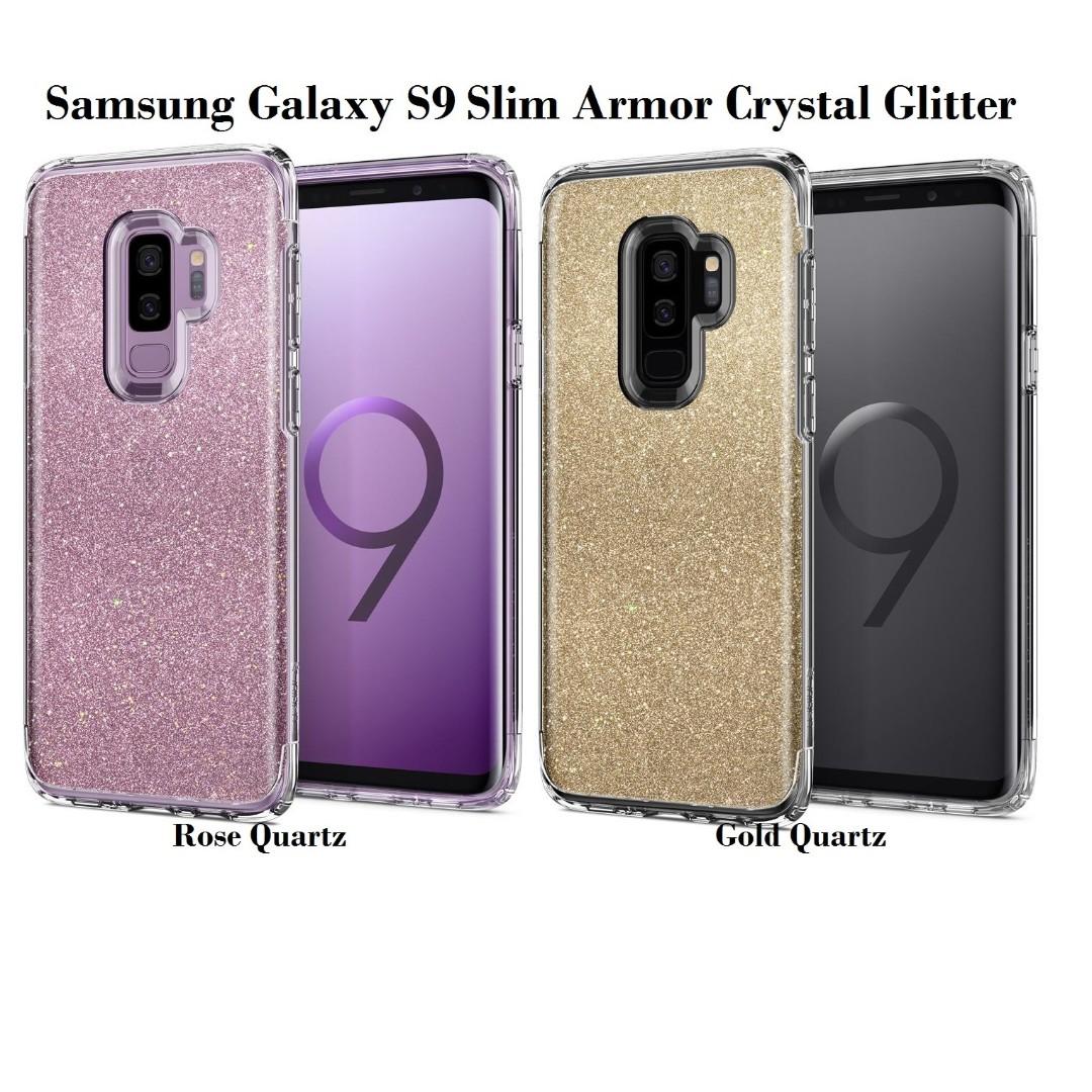 the latest 8ca4c 7cf85 Spigen Samsung Galaxy S9 Slim Armor Crystal Glitter
