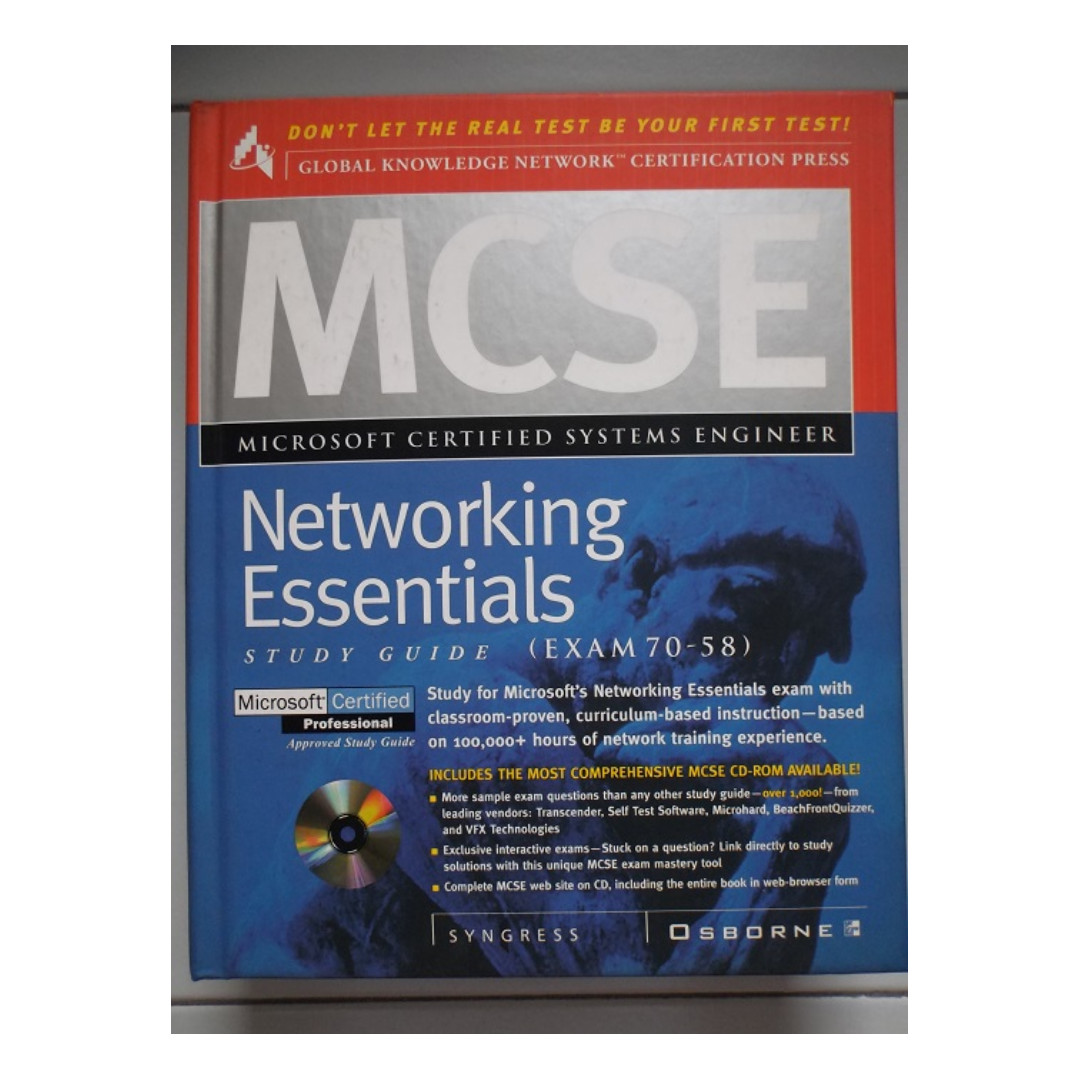 Mcse Networking Essentials Study Guide By Syngress Osborne Books