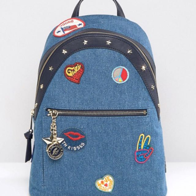 e174f0be6ca Tommy Hilfiger Gigi Hadid Denim Patch Backpack, Women's Fashion, Bags &  Wallets, Backpacks on Carousell