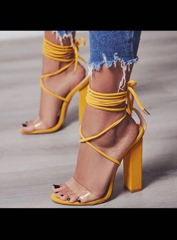 816854d8165 Women Pumps 2018 Summer High Heels Sandals PVC Transparent Women ...