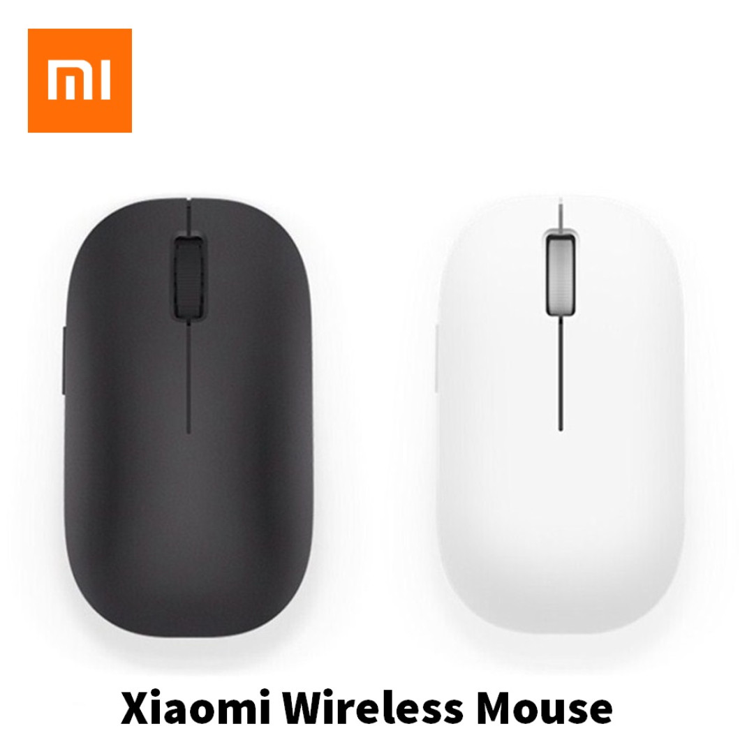 Xiaomi Mi Wireless Mouse 24ghz For Pc Laptop Notebook Electronics Alcatroz Lithium L2 Photo