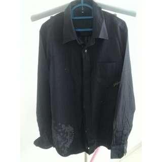 billabong black shirt