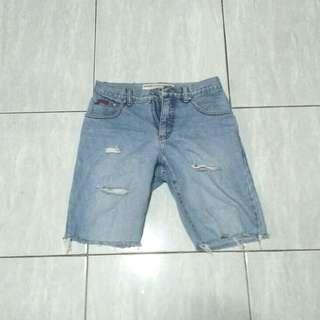 Lee Cooper Vintage Distressed Short Jeans