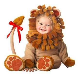 Incharacter Baby Li'l Lion Animal Costume