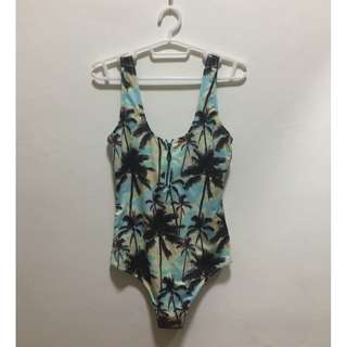 H&M Palm Tree Swimsuit