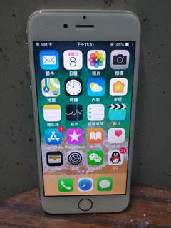 iphone 6S 64GB 金色
