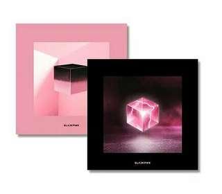 Blackpink - 1st mini album (Square Up)