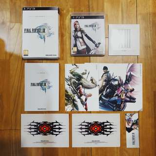 PS3 Final Fantasy XIII 13 Limited Collector's edition