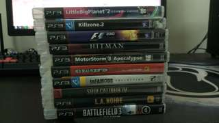 WTS _ used ps3 games.