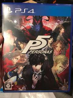 PS4 Persona 5 (Japanese Only)