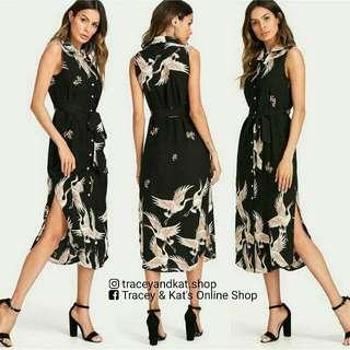 Mango Inspired Slit Dress
