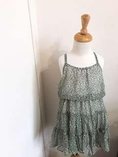 雪紡洋裝花花裙