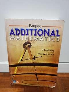 Additional Mathematics Panpac