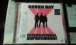 VCD Green Day International Supervideos