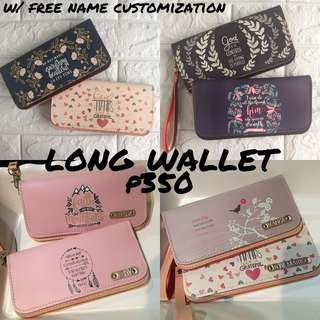 LONG WALLET WITH BIBLE VERSE