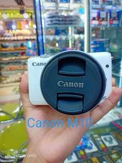 Kamera Canon M10 bisa dicicil di giant megabekasi