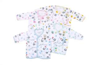 All colors IN STOCK Baby sleepwear - baby top long sleeve - newborn clothes - baby clothes (code: LSBF)