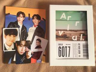 WTS GOT7 6th Mini Album Flight Log: ARRIVAL [Ever Version]