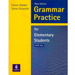 Grammar Practice For Elementary Student Book with Key Pack (178 Page Mega eBook)