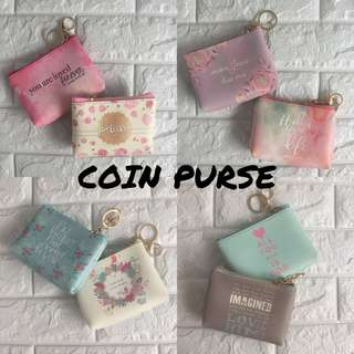 COIN PURSE WITH BIBLE VERSE