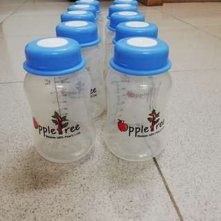 Appletree milk storage bottle