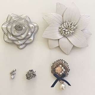 Pendent & Brooches