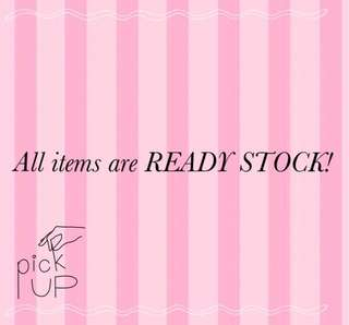 ALL ABOUT VS!!!! READY STOCK GIRLS, GRAB YOURS NOW