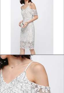 Love Bonito (LB) Marish Lace Off Shoulder